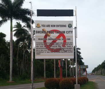 No smoking Tagum