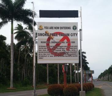 No smoking Tagum