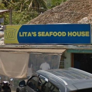 Lita's Seafood House Signage